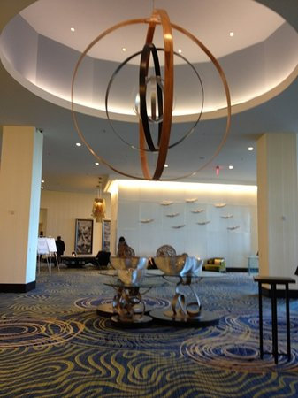Renaissance Arlington Capital View Hotel: conference main lobby
