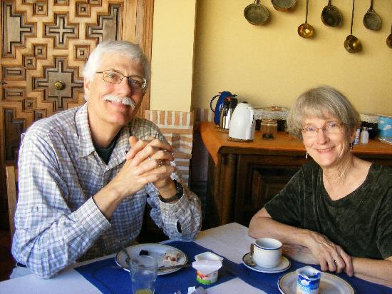 La Posada de Manolo : A pleasant breakfast at the Posada de Manolo