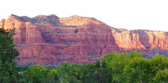 Las Posadas of Sedona: room with a view