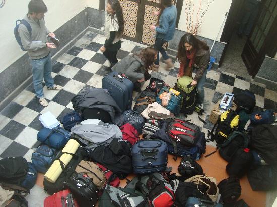 Atlas Hostel Montevideo: Organizando la vuelta a casa