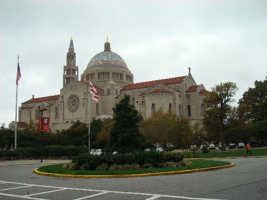 Basilica of the National Shrine of the Immaculate Conception: Exterior