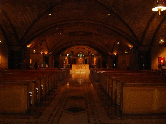 Basilica of the National Shrine of the Immaculate Conception: Crypt