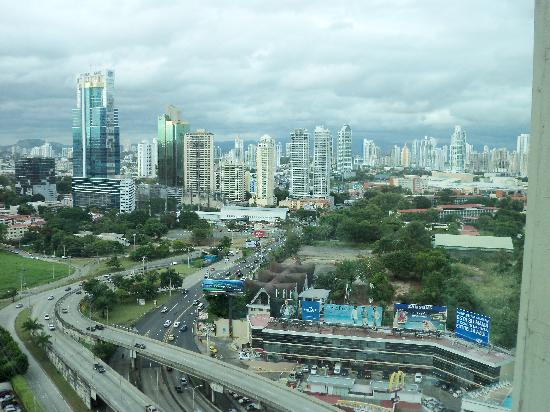 Radisson Decapolis Hotel Panama City: inmejorable vista