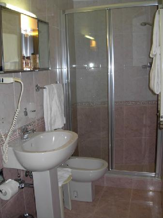 Hotel San Zulian: The bathroom