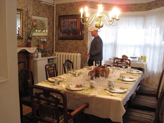 The Dawson House : The Dining Room