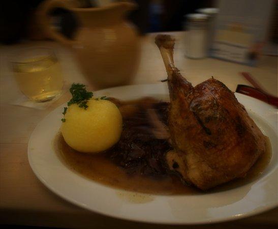 Pfalzer Residenz Weinstube: Goose Dinner