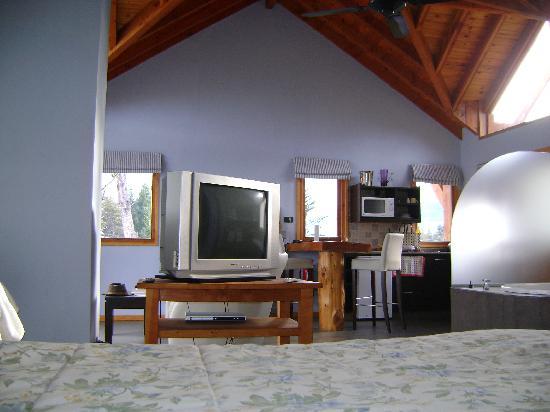 Casa del Bosque Aparts & Suites: desde la cama