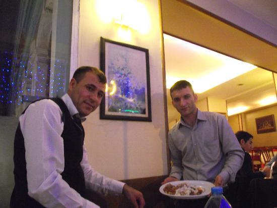 Hos seda: Our proud and wonderful waiters