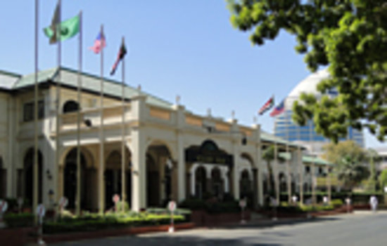 Grand Holiday Villa Hotel & Suites Khartoum : Hotel Exterior