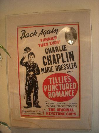 Montecito Inn: Charlie Chaplin