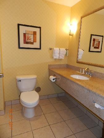 Comfort Suites Eugene: Bathroom