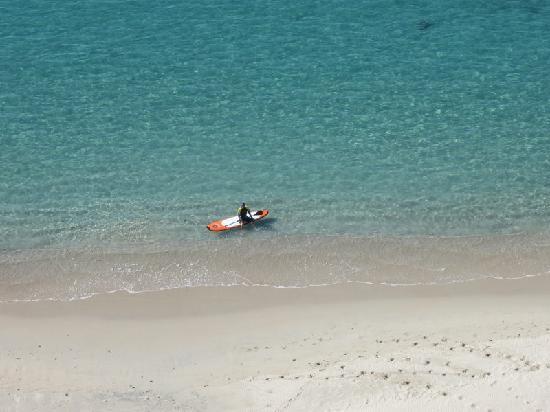 Condo-Hotel Playa Blanca: Morning swim
