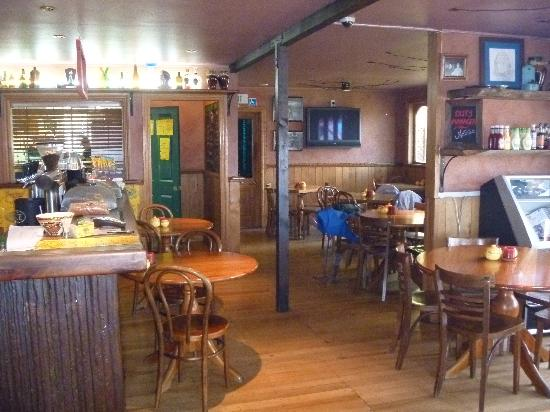 Cook Saddle Cafe & Saloon: The interior seating