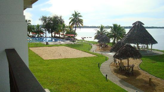 Playa Tortuga Hotel & Beach Resort: View from hotel room