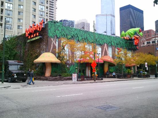Hotels Near Rainforest Cafe Chicago