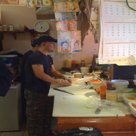 Sushi Bong : making