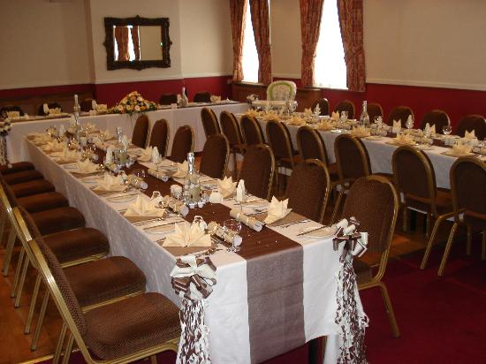 Borough Arms Hotel: Wedding breakfast