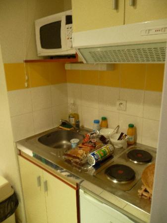 Appart'City Montpellier Saint-Roch: cuisine équipée