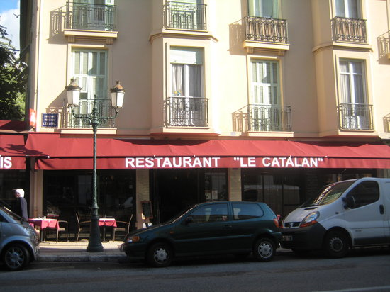 Le Catalan : From across the road