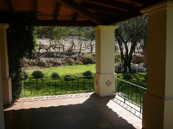 Vinas de Cafayate Wine Resort: Veranda