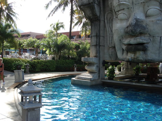Phuket Orchid Resort: More of the hotel pool area