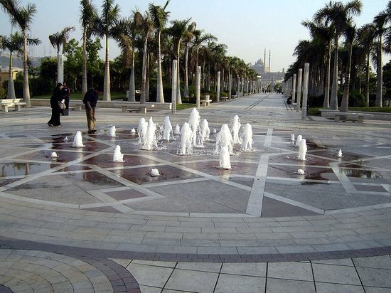 Parc Al-Azhar : Fountain