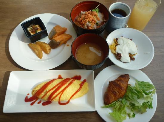 โฮเต็ล แจล ซิตี้ คันไน โยโกฮามา: Breakfast