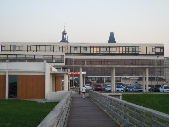 Grand Hotel du Casino de Dieppe : Vue de l'hotel