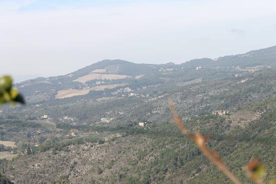 La Rocca Hotel: foto dalla terrazza