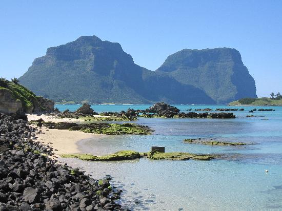 Arajilla Retreat - Lord Howe Island: View from Settlement Beach