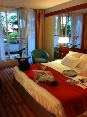 Hotel Helianthal : aperçu chambre