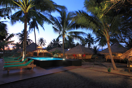 Rinjani Beach Eco Resort: resort