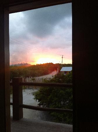 Island Oasis Resort: Sunset from my balcony