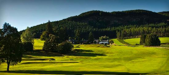 Pitlochry Golf Club: Looking towards 3rd