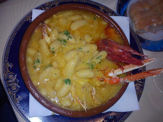 Sidreria Restaurante Casa Mendez: Fabes con Cigalas y Carabineros