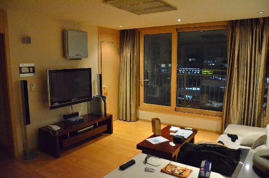 Living room picture of cheongdam human star ville seoul for Klaus k hotel living room