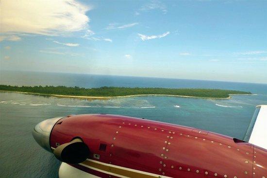 Desroches Island : l'arrivée