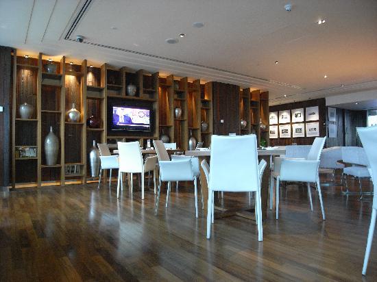 โรงแรมจีทาวเวอร์: colazione al The Club (28° piano)