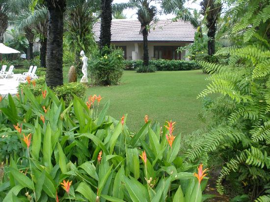 ปาล์มการ์เด้นรีสอร์ท: pool bungalow