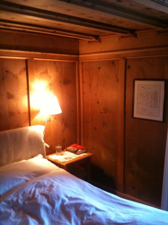 Historic Hotel Chesa Salis : le camere in legno