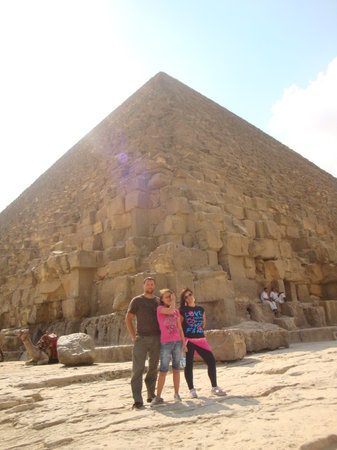 Ramasside Tours: By the pyramids
