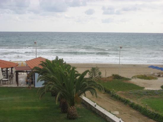 Vantaris Beach : ein blick vom Balkon
