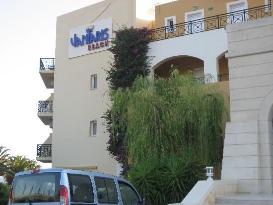Vantaris Beach : vorm Hotel
