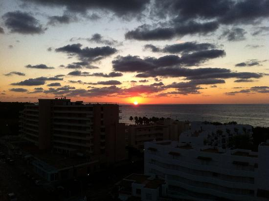 Hipotels Marfil Playa: Sunrise