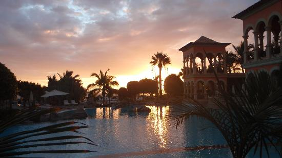 IBEROSTAR Grand Hotel El Mirador: Sunset from the bar