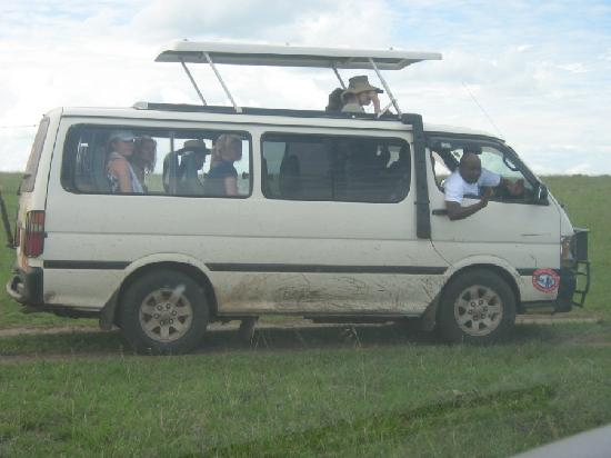 Nairobi Airport Stop Over House: Our guests on an excursion in the park