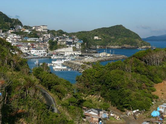 Hotel Ijikaso : ベランダからの風景、漁港が見えた。いつかこの風景の絵を描きたいと思った。
