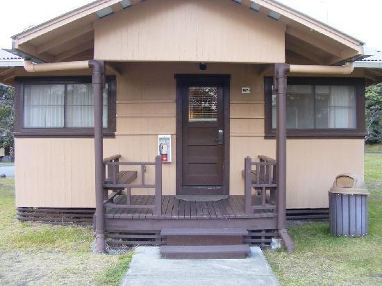 Kilauea Volcano Military Camp: Cabin 97 front