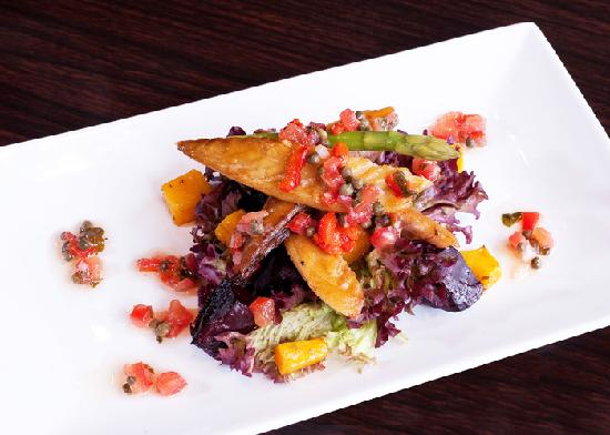 Fat Olive Wigan: Starter size salad