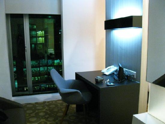 Ruemz Hotel: workarea